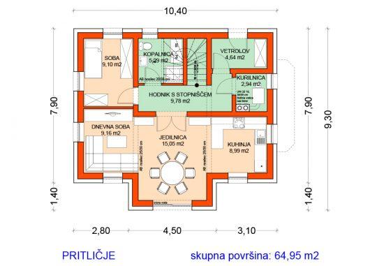 03_S91_tloris_pritlicja